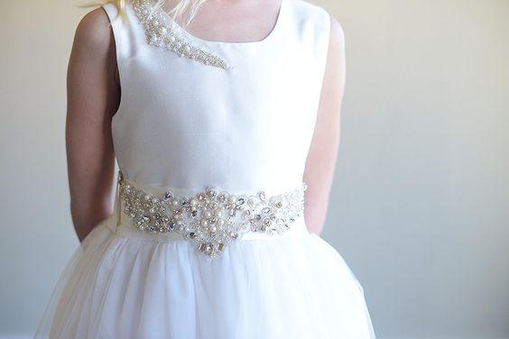 El vestido de la muchacha de flor de perlas vestido por gillygray