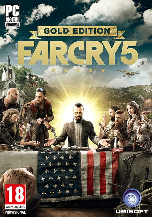 Far Cry 5 Pc Iso Download In Hope County Montana You Might Find Yourself Using A Guided Missile To Kill A Charging Bear Not Be Far Cry 5 New Comedies Crying