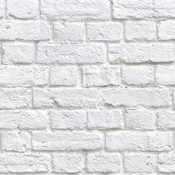 Soft White Bricks Wallpaper Realistic Accurate Bricks Milton King White Brick Wallpaper Brick Wallpaper White Wallpaper