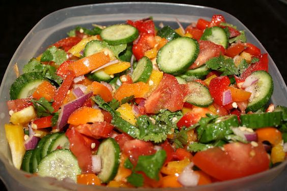 Summer salad perfect for potlucks side dishes and on for Side dishes for fish tacos