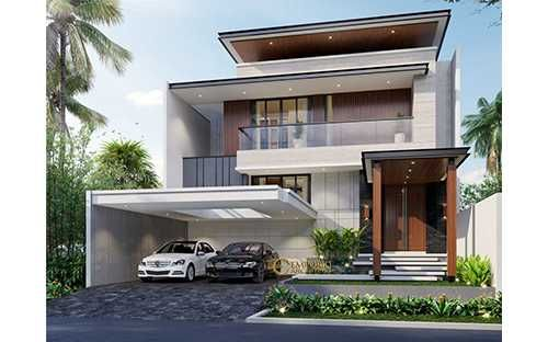 Mrs Sicil Classic House 2 Floors Design Jakarta Selatan Duplex House Design House House Design House plan modern contemporary