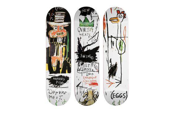 The Skateroom x Jean-Michel Basquiat