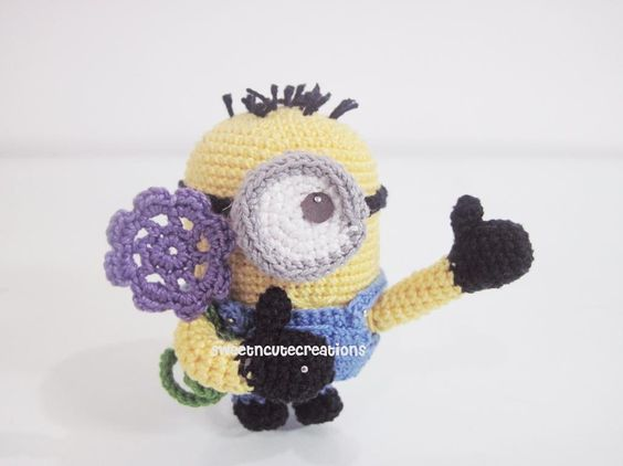 Free Crochet Pattern For Minion Eyes : Minion 2.0 pattern on Craftsy.com - Another minion patter ...