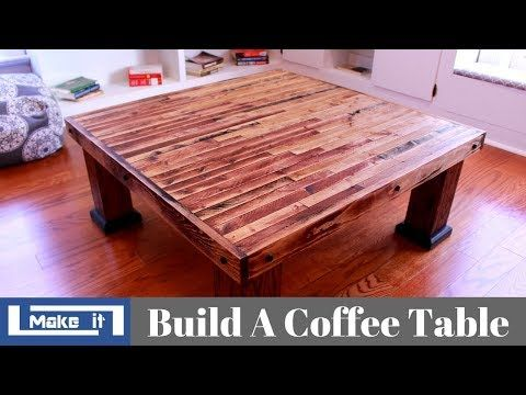 How To Build A Coffee Table With 2x4 And Plywood Diy Youtube Coffee Table Build A Coffee Table Coffee Table Plans