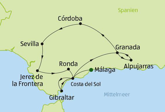 Andalusien - Rundreise