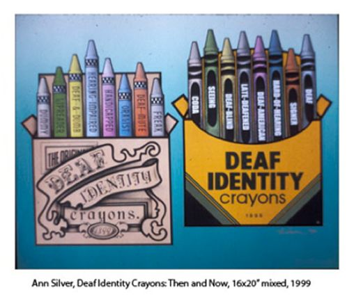 the deaf identitiy Civic and social organizations another value that deaf people hold closely to their hearts is deaf schools, where students are taught asl, the language itself and subjects in asl, and this kind of school (called stateschools) is where deaf children will gain a better understanding of their culture, their language, and their identity as a whole.