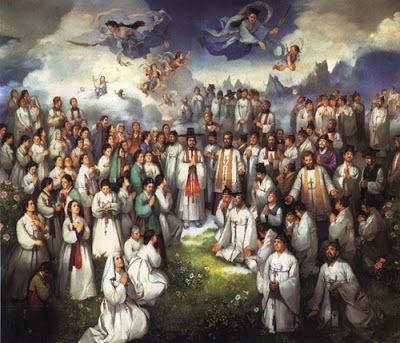 El Santo del Dia: 20 DE SEPTIEMBRE SANTOS ANDRÉS KIM Y PABLO CHONG Y COMPAÑEROS MÁRTIRES COREANOS