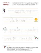 free holiday themed worksheets...