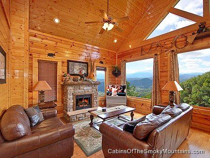 Cabin rentals pigeon forge and pigeon on pinterest for Www cabins of the smoky mountains com