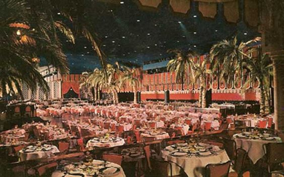 The Cocoanut Grove, Los Angeles CA.  Another favorite hangout for old Hollywood during Hollywood's golden age.