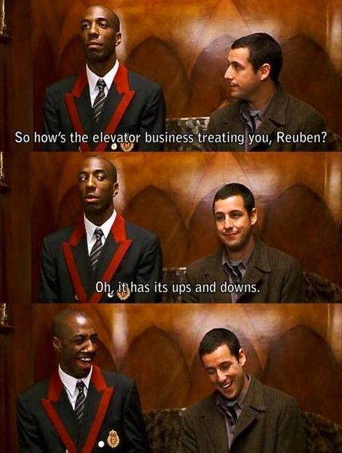 hahaha... Mr. Deeds :)