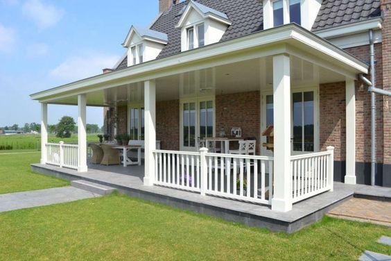 Veranda anbauen  veranda landelijke stijl - Google zoeken | tuin | Pinterest ...