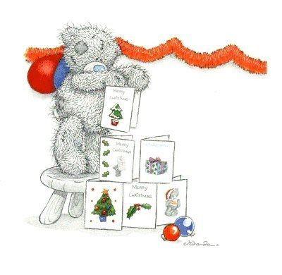 Tatty Teddy Blue Nose Christmas  New Year Pinterest Christmas