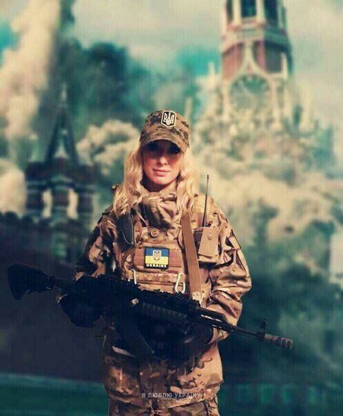 Ukrainian 🇺🇦Female Soldier