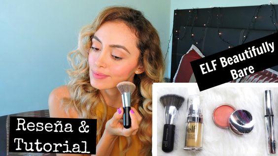 ELF BEAUTIFULLY BARE | NO MAKEUP MAKEUP | Reseña y Tutorial | Beautysquadmx