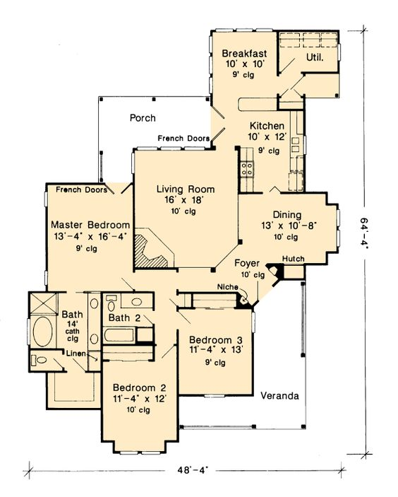country farmhouse victorian house plans and floor plans craftsman plan 1 946 square feet 3 bedrooms 2 bathrooms