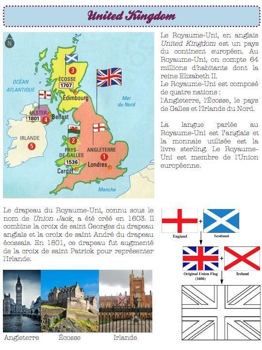 civilisation-Royaume-Uni - Dans ma classe, il y a...