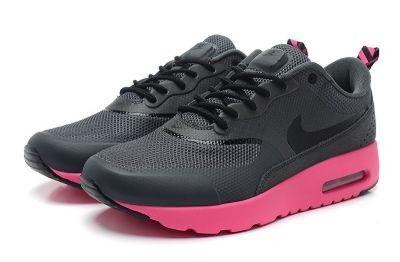 Grigio Scuro,Nere,Rosa - Scarpe Da Ginnastica Nike Air Max Thea Donna