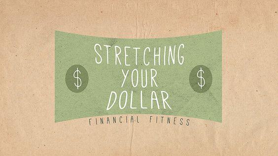 Stretching Your Dollar - Identity Design
