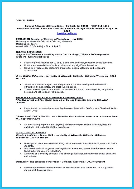 We Already Knew That We Must Put Our Educational Information To   Server  Bartender Resume  Server Bartender Resume