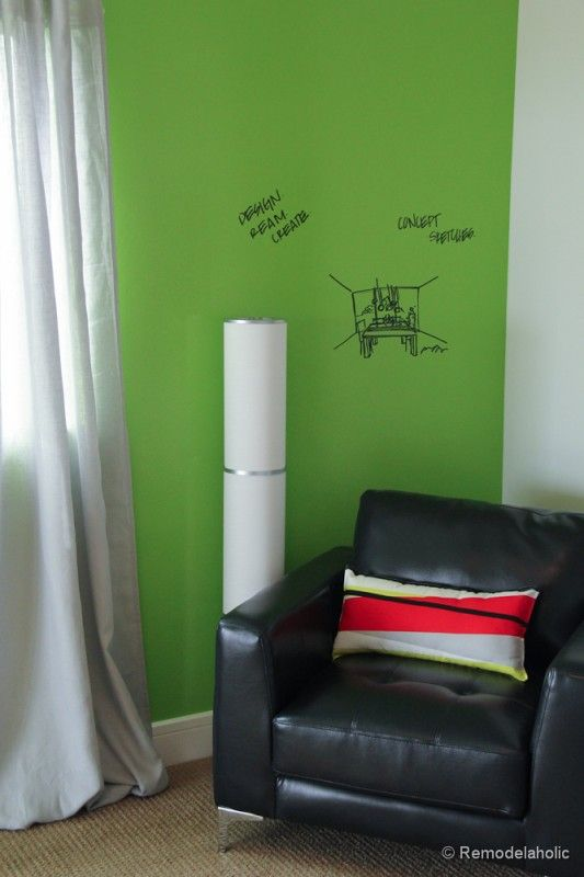 idea paint dry erase board and painted walls on pinterest. Black Bedroom Furniture Sets. Home Design Ideas