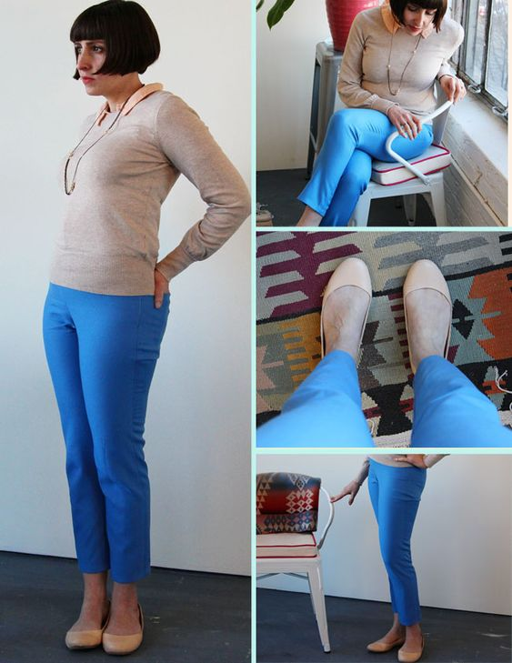 how to make perfect fitting pants