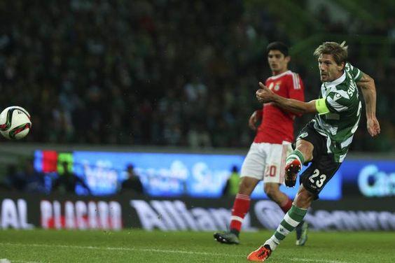 Adrien remata para o golo do empate
