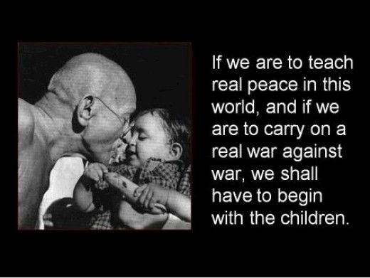 Image result for gandhi quotes on peace
