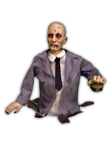 Animated Tabletop Zombie Decoration
