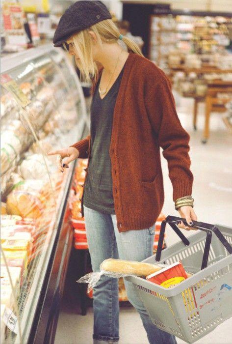 nice grandpa grocery look