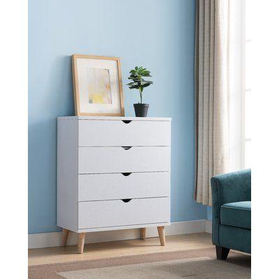 Trule Bowie 4 Drawer Standard Chest Furniture Bedroom Furniture Home Furniture