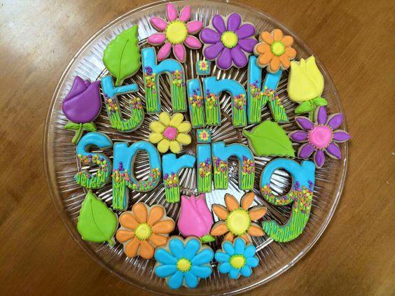 "Karen Babbitt Dalum:  ""think spring""  cookie collection"