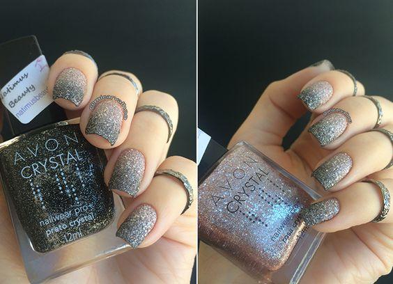 Esmaltes Avon Color Crystal Preto e Rose usados pelo Blog da Mi que ela recebeu em sua NatimusBOX de Maio 2015. Confira!! www.natimusbeauty.com.br