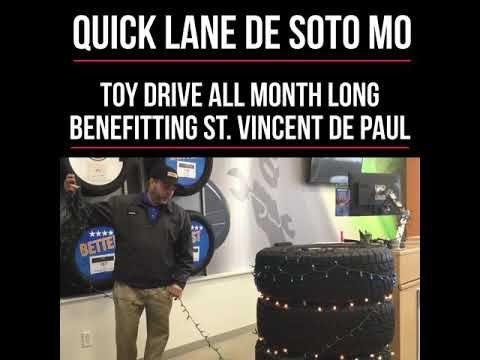 Quick Lane In De Soto Missouri Benefitting St Vincent De Paul