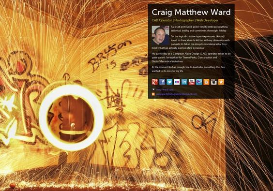 Craig Matthew  Ward's page on about.me – http://about.me/craigward