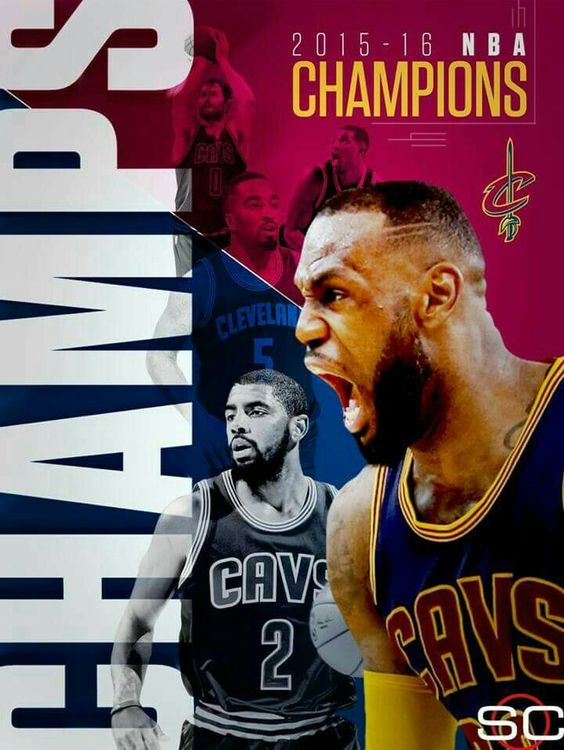 Champions! Cleveland Cavaliers!