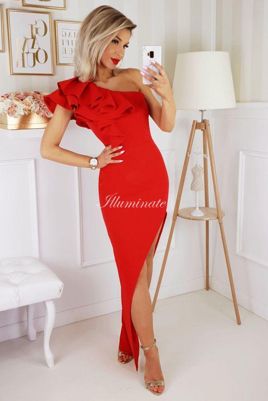 Ashley Czerwona Sukienka Na Wesele In 2020 Sukienki Suknie Wieczorowe Sukienka