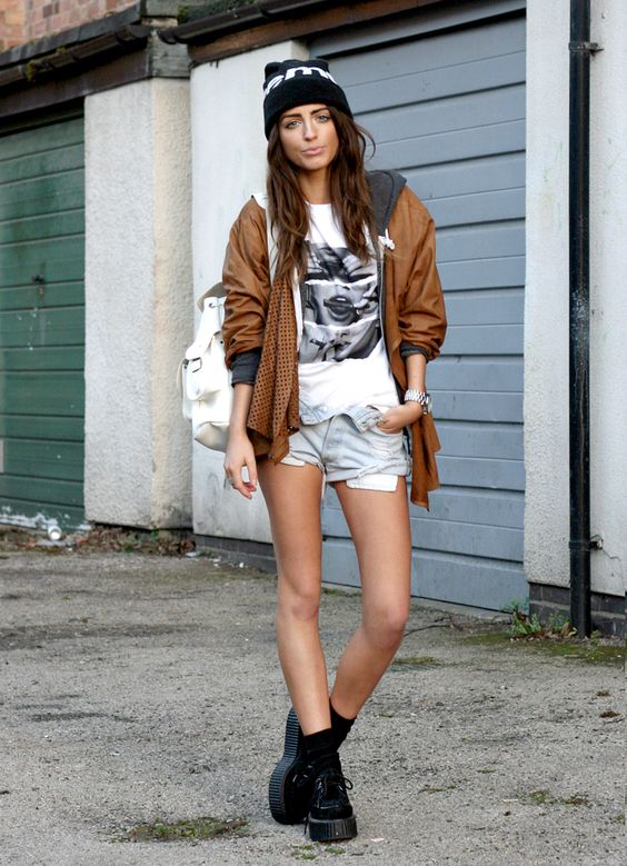 Grungy and sexy