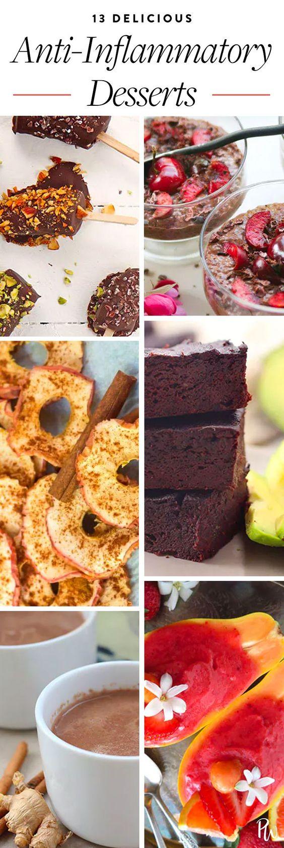 desserts for anti inflammatory diet