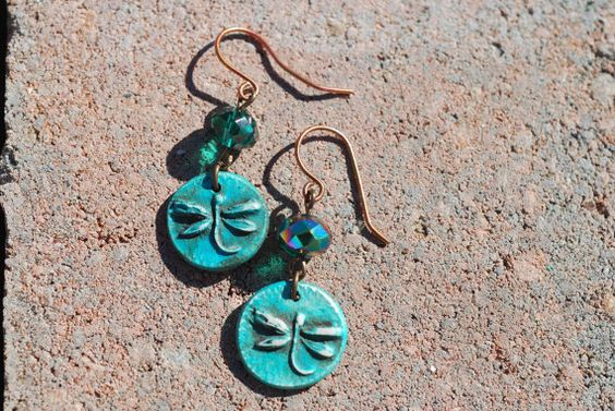 How cute are these Dragonfly Drop Earrings by GenesisHarmony now? $28.00 #handmadejewelry