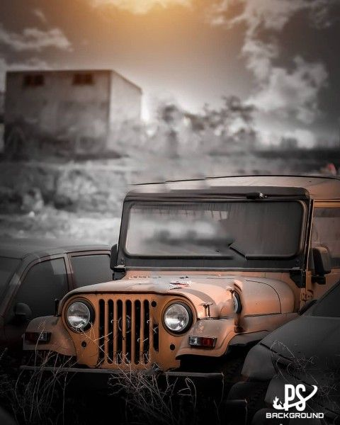 Car Jeep Background Hd For Editing