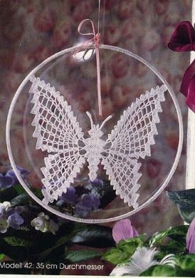 My treasures: Butterfly crochet