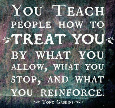 What are you teaching others?