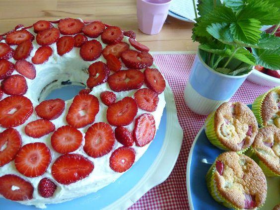 Erdbeer- Kranz