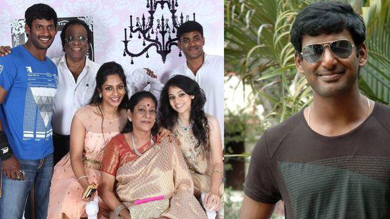 Actor Vishal Family Photos / Vishal Krishna with Family & Friends/ Visha...