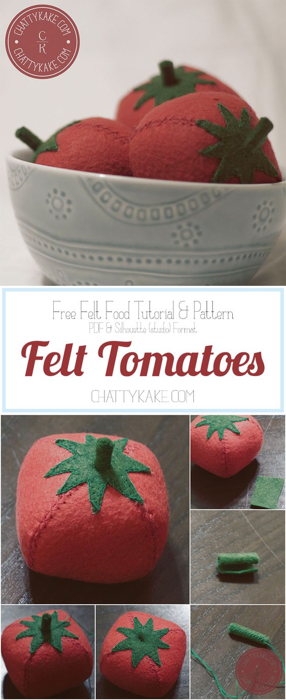 Felt, Feltro and Tomatoes