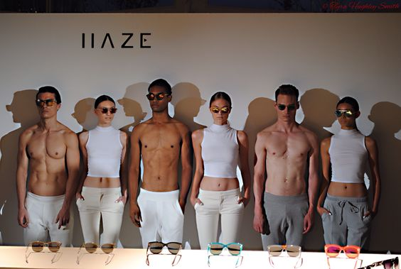 Haze Collection sunglass collection. Mercedes Benz Fashion Week in NYC. Hudson Hotel. http://www.barristourista.com/p973655584#h2f416977