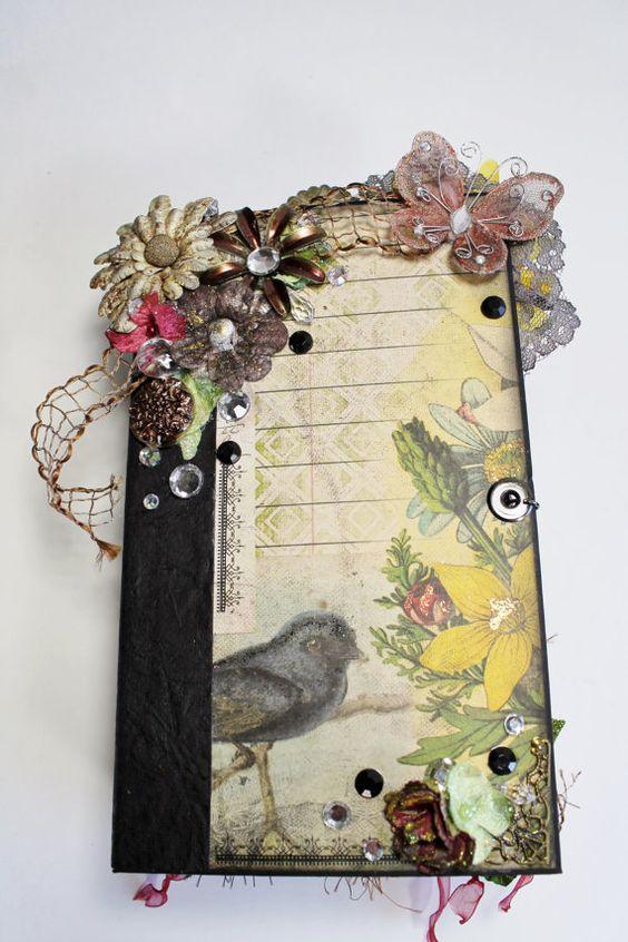 One of a Kind Handmade Mini Album Chunky by BlingNThingsbyPenny, www.blingnthingsbypenny.etsy.com
