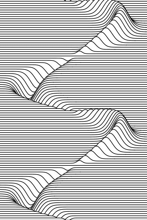 Line Optical Designory : Playing with lines in photoshop and illustrator
