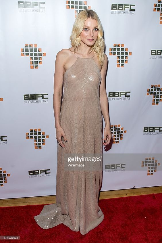 Model Jessica Stam attends the 2015 Building Blocks For Change Spring Gala at Michelson Studio on April 25, 2015 in New York City.